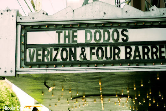 The Dodos, Verizon Coffee Shop Series