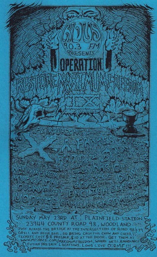 Operation: Restore Maximum Freedom 9, KDVS