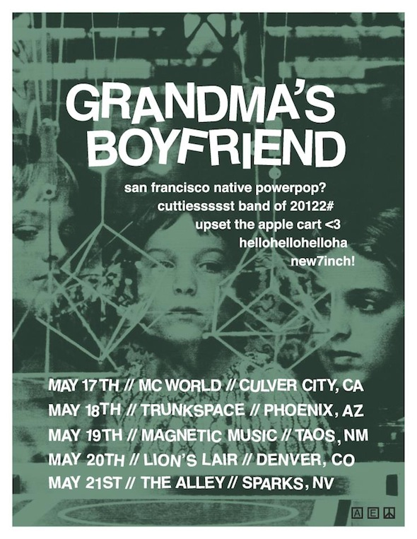grandmas boyfriend tour poster