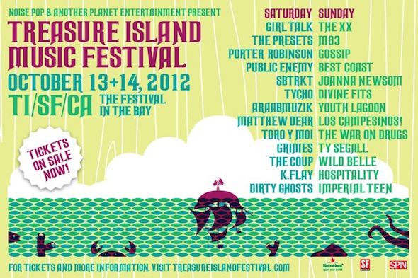 2012 Treasure Islands Music Festival