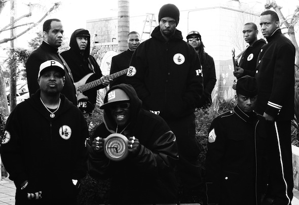 Public Enemy - Photo by David Wong