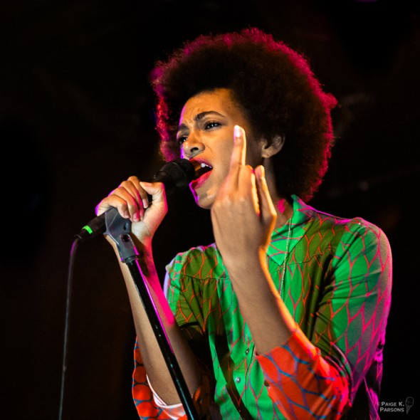 Solange Knowles @ The Independent 2/5/13 - photos by Paige Parsons