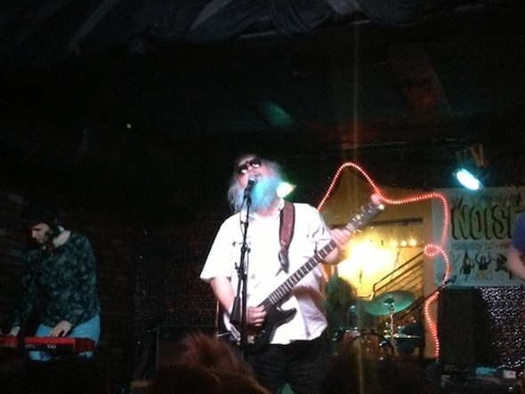 Noise Pop 2013: R. Stevie Moore @ Bottom of the Hill 2/27/13 - photo by Lauren Espina