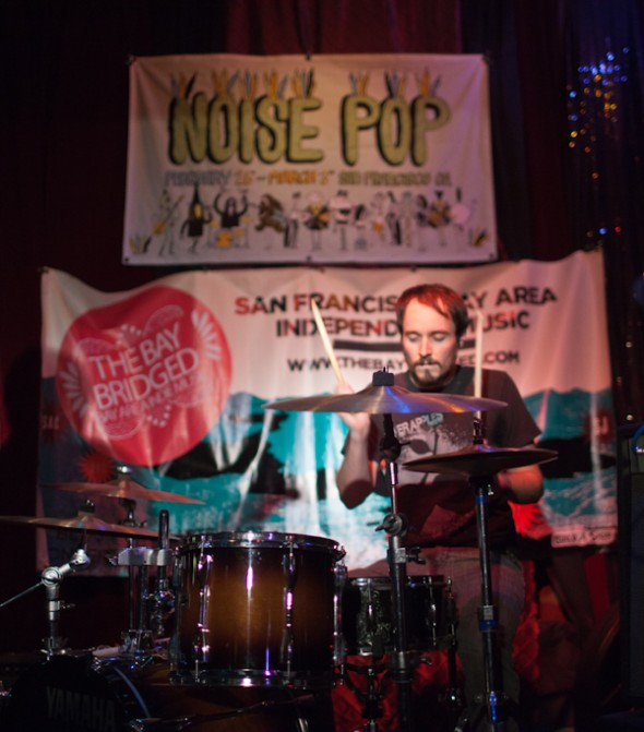 Noise Pop Happy Hour presented by the Bay Bridged - Golden Void - photo by Nicole L. Browner