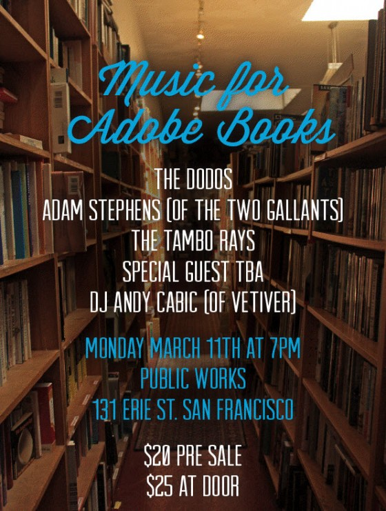 adobe books benefit flier