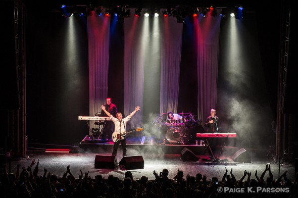 OMD @ Regency Ballroom 4/12/13 - photo by Paige K. Parsons