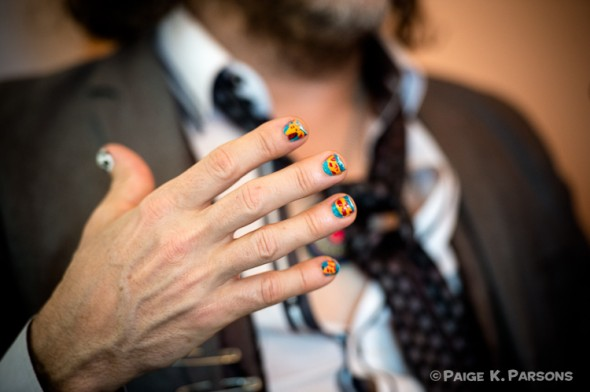 Wayne Coyne's nails.