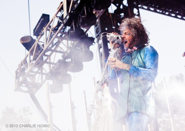 The Flaming Lips at BottleRock Napa 2013 - Photo by Charlie Homo