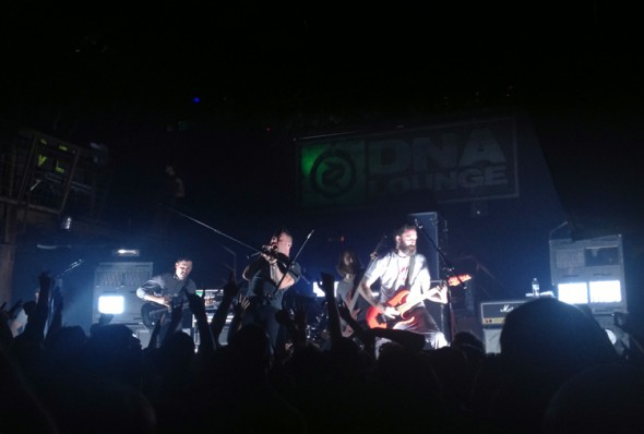 Dillinger Escape Plan @ DNA Lounge 5/19/13 - photo by Zack Frederick