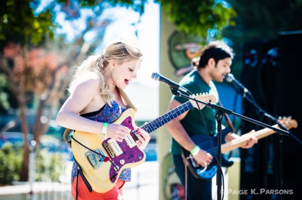 Marnie Stern - live at Phono del Sol 2013 - Photo by Paige K Parsons