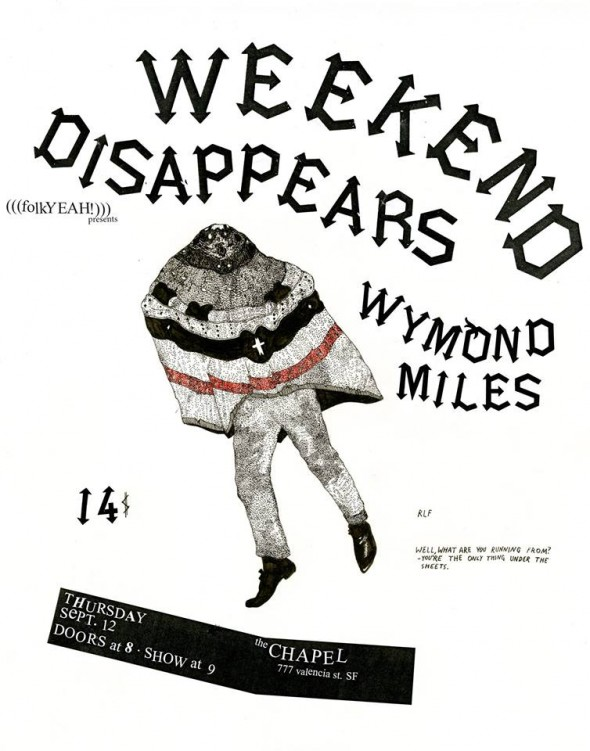 weekend disappears flyer