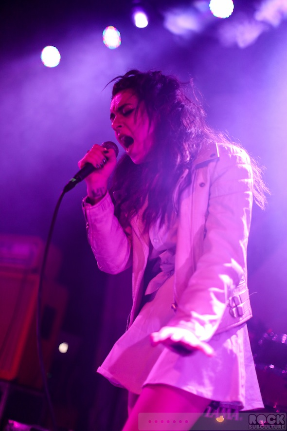 Charli XCX at Slims - photo by Jason DeBord