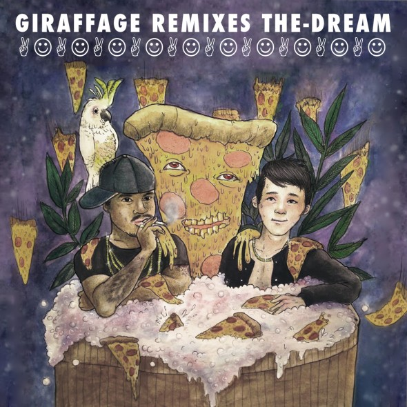 Giraffage Remixes The-Dream (art: Yvette Young)